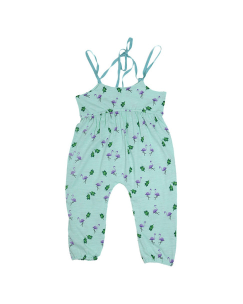 Mi & O Printed Strappy Jumpsuit~1511773758