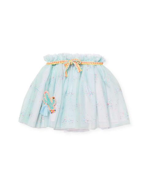 Billieblush Mesh Ruffle Skirt~1511774961