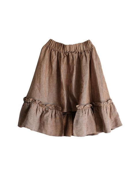 Wolf & Rita Conceicao Frill Linen Skirt~1511775777