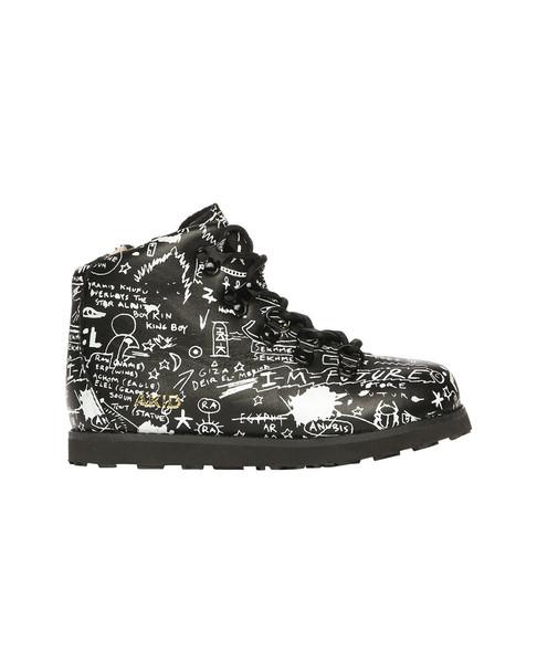 AKID Jasper Egyptian Print Leather Boot~1511776376