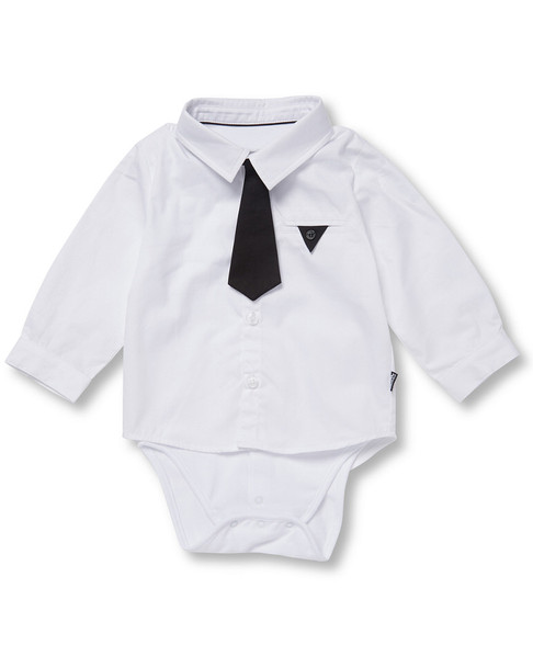 Karl Lagerfeld Dress Shirt Bodysuit~1511785517