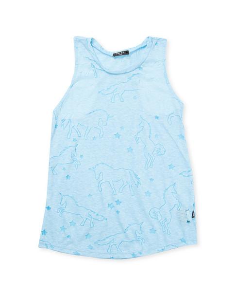 Terez Burnout Unicorns Tank Dress~1511787024