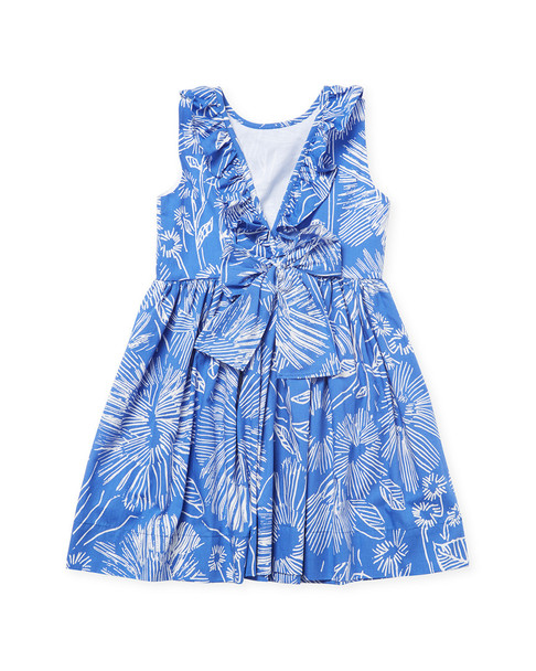 Il Gufo Floral Print Fit-and-Flare Dress~1511790504