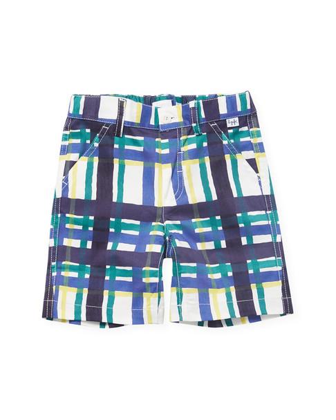 Il Gufo Checkered Short~1511790532