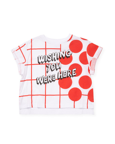 Stella McCartney Wishing You Were Here T-Shirt~1511791663