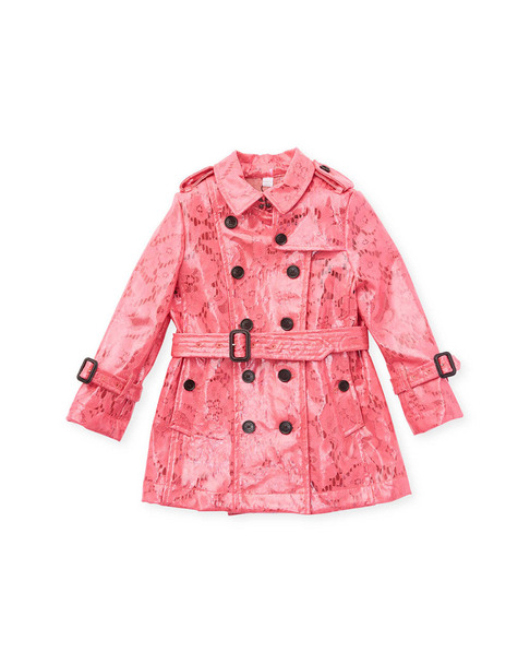 Burberry Lace Trench Coat~1511792046