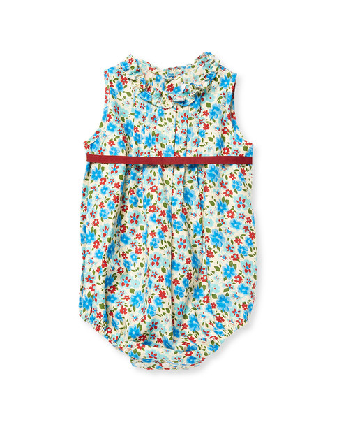 Elephantito Floral Pleated Romper~1511801070