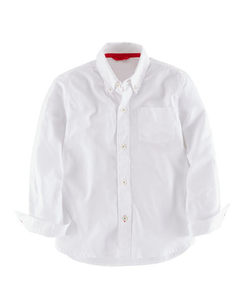Boden Boys' White Oxford Shirt~1511838505