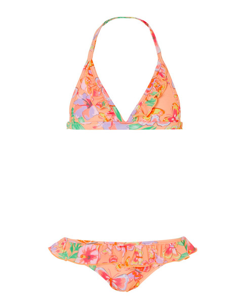 Sunuva Girls' Tropical Butterfly Bikini~1545376687