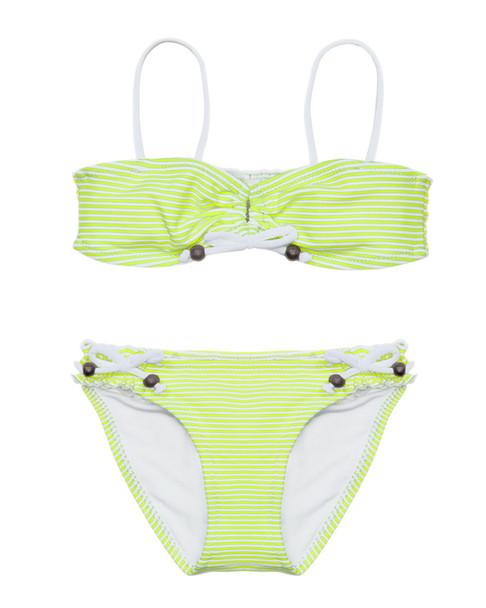 Sunuva Girls' Neon Stripe Bikini~1545998581