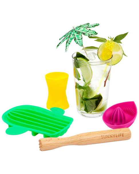 Sunnylife 4pc Mojito Cocktail Set~3010776133