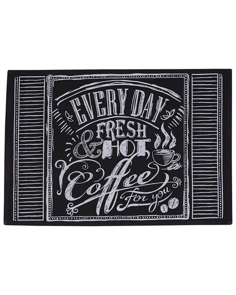 Design Imports Set of 6 Coffee Chalkboard Placemats~3010783978