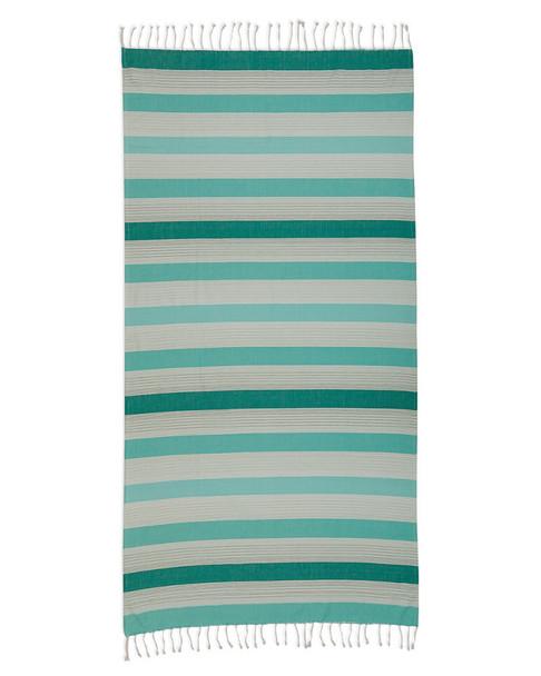 Design Imports Coral Stripe Fouta Towel~3010807885