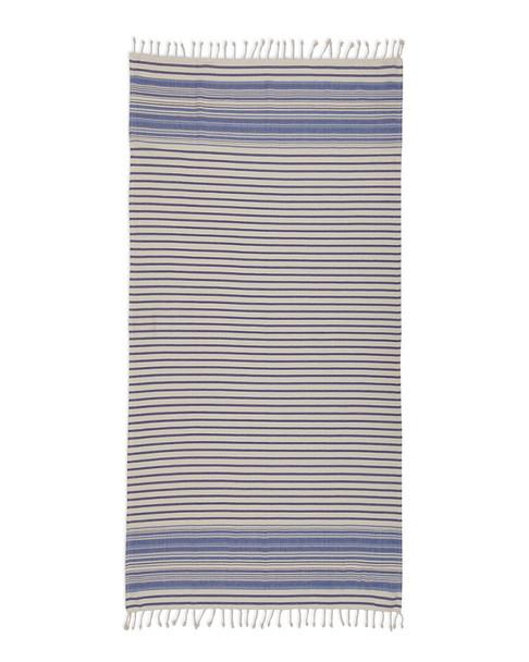Design Imports Coral Stripe Fouta Towel~3010807886