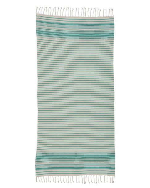 Design Imports Coral Stripe Fouta Towel~3010807888