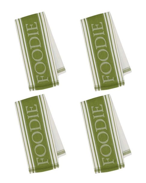 Set of 4 Foodie Dish Towels~3010816881