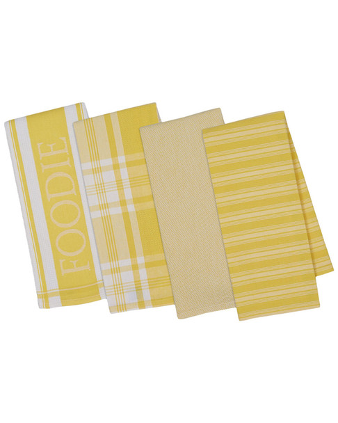 Set of 4 Gourmet Kitchen Dish Towels~3010818493