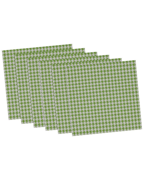 Set of 6 Houndstooth Placemats~3010819107