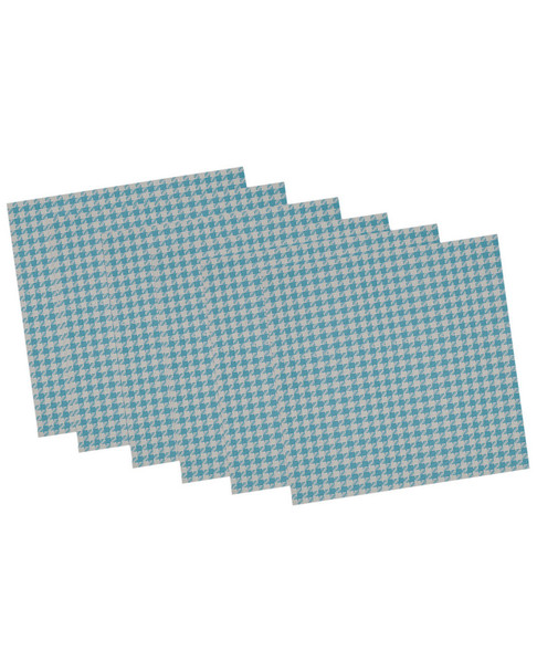 Set of 6 Baja and Houndstooth Placemats~3010819269