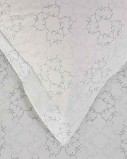 Whit & Alex Geo All Over Grey Duvet Set~3030469054