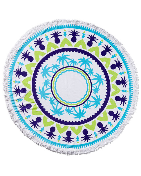 Marcus Adler Round Terry Beach Towel~3030686353