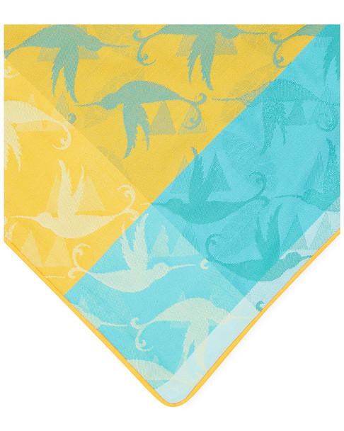 Garnier-Thiebaut Set of 2 Mille Colibris Cotton Cushion Covers~3030814702