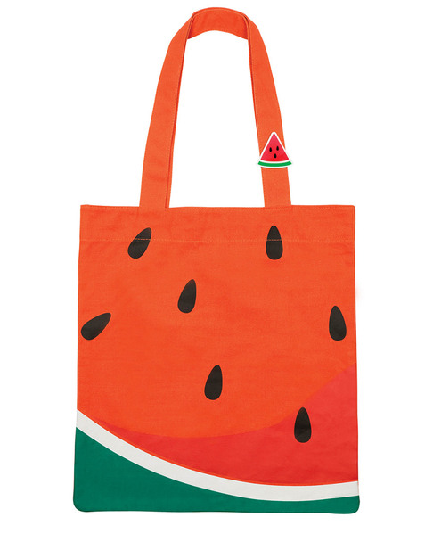 Sunnylife Watermelon Cotton Tote Bag~3030822506