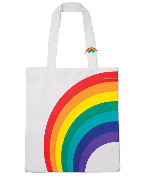 Sunnylife Rainbow Cotton Tote Bag~3030822507