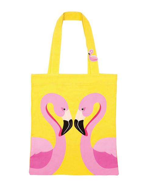 Sunnylife Flamingo Cotton Tote Bag~3030822509