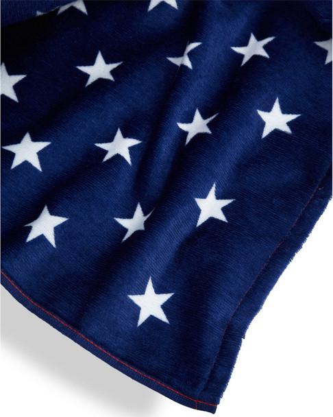 Dohler American Flag Terry Velour Beach Towel~3030873737