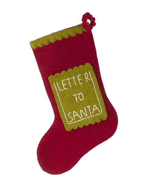 Letter To Santa Stocking~3050542068