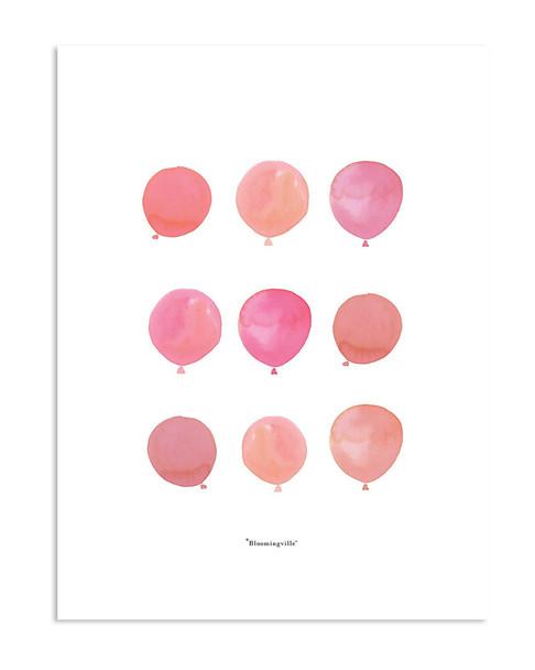 Bloomingville Mini Balloons Poster~3050824341