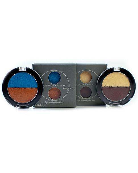 Caroline Chu Peacock Plume/Coco Harris Eye Shadow Duo Sets~4120633965