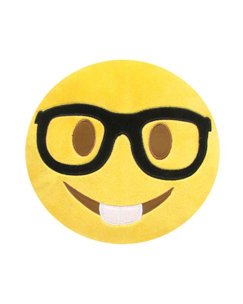 Kids Preferred Small Emoji Nerd Face Pillow~5040827357