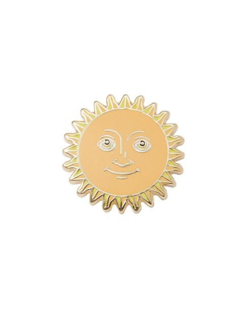 PINTRILL Sun Face Pin~6020830686