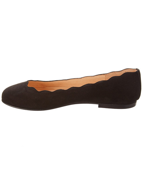 French Sole Razor Suede Flat~1311346531