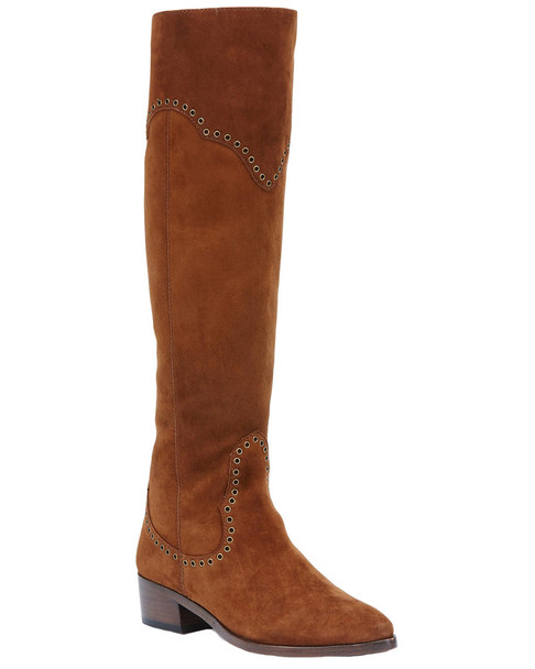 Frye Ray Grommet Tall Suede Boot~1311667443