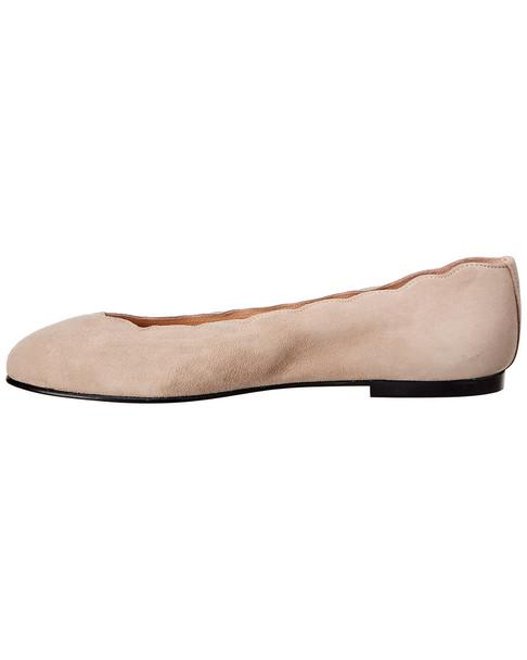 French Sole Razor Leather Flat~1311682753