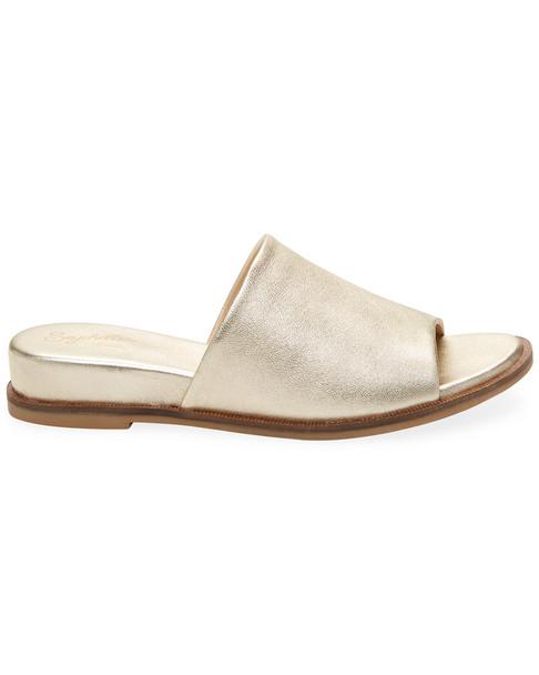 Seychelles Take A Dive Leather Slide Sandal~1311801523
