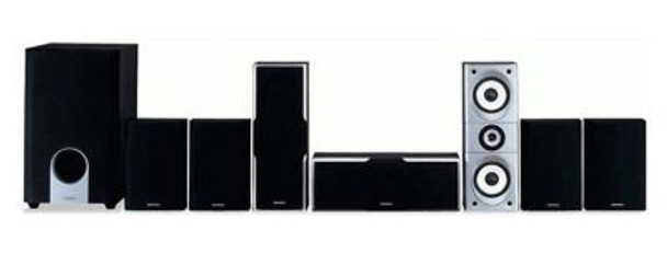 7.1 Channel Home Theater Speaker System-107701