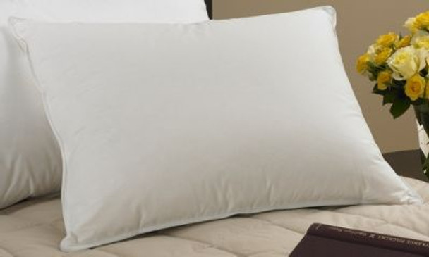 Cambric Down-&-Feather Pillow 90% White Duck Feather/10% Snow White Down-184240
