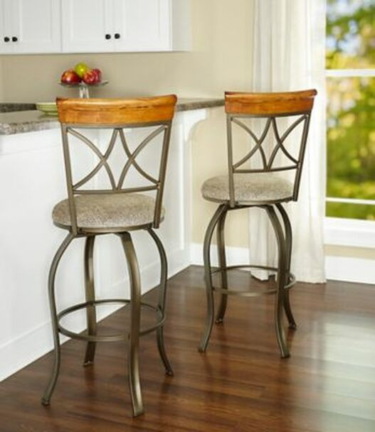 Hamilton Swivel Bar Stool-256182