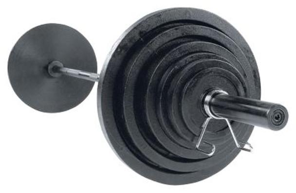 Cast 300 lb. Olympic Plate Set-263841