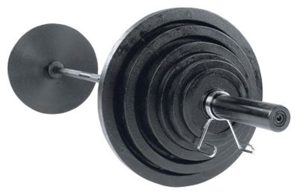 Cast 400 lb. Olympic Plate Set-263845