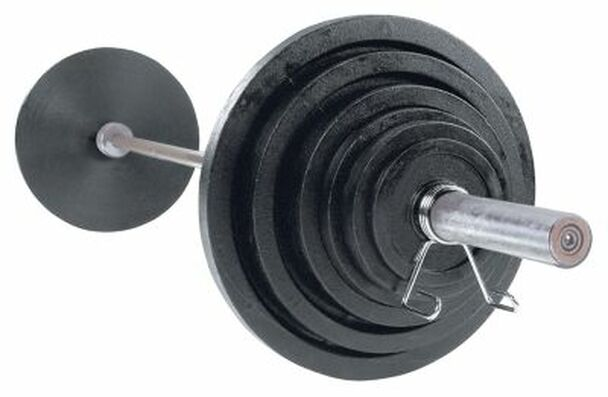 Cast 400 lb. Olympic Plate Set-263863