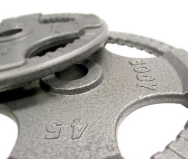 Cast Hand Grip 255 lb. Olympic Plate Set-263889