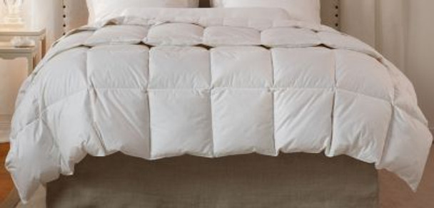 """Down to Earth 12"""" Sewn Thru Boxstitch Fall Weight Comforter-430050"""