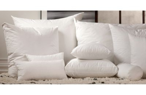 Rectangle Decorative Pillow Filler - 75% White Duck Feather/25% Snow White Down-430432