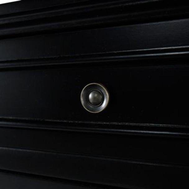 Black 2-Door Console-658630