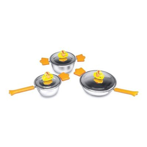 Children's Line Sheriff Duck 6pc Cookware Set-767961